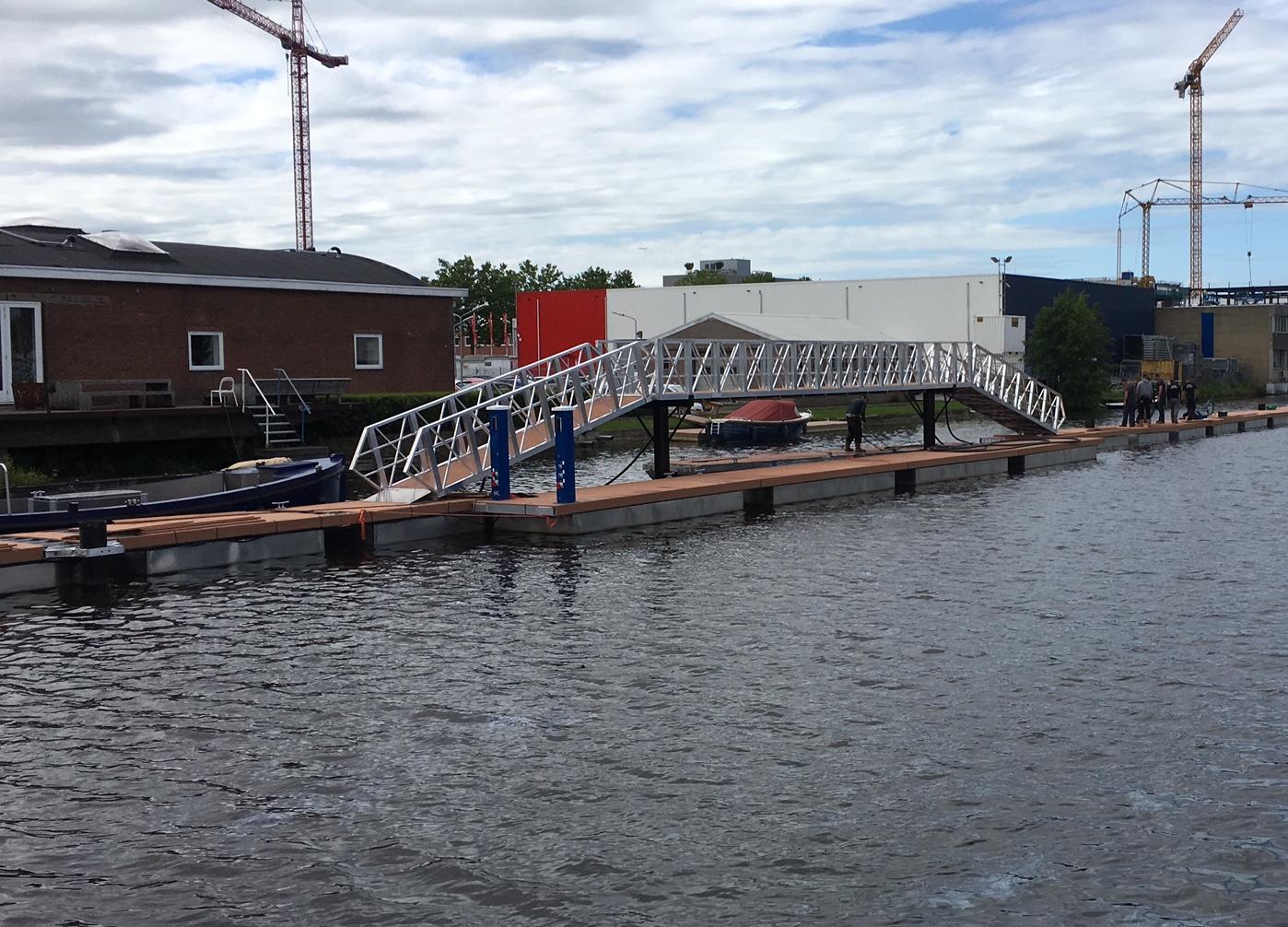 Bouwwerkzaamheden jachthaven E-Harbour