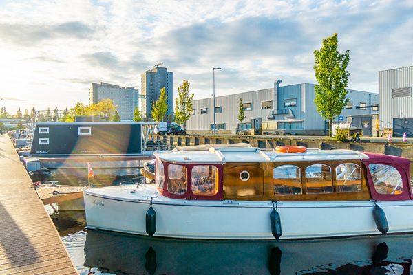 ligplaats boot amsterdam